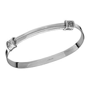 E.L. Designs Ed Levin Studio Bracelets BR118, FLORAL WRAP, Hawkins House Craftsmarket, Bennington, VT