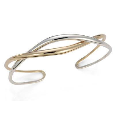 Ed Levin Bracelets BR540, TENDRIL CUFF, Hawkins House Craftsmarket, Bennington, VT