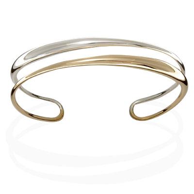 Ed Levin Bracelets BR545, PERPETUAL CUFF, Hawkins House Craftsmarket, Bennington, VT