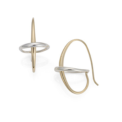 Ed Levin Earrings EA606, ORBIT, Hawkins House Craftsmarket, Bennington, VT