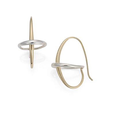 E.L. Designs Ed Levin Studio Earrings EA606, ORBIT, Hawkins House Craftsmarket, Bennington, VT