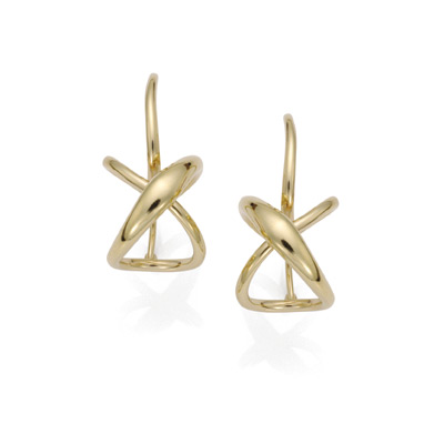 Ed Levin Earrings EA692 - SECRET HEART EARRING - 14K Gold - Hawkins House Craftsmarket, Bennington, VT