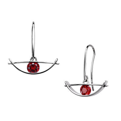 E.L. Designs Ed Levin Studio Earrings EA741, ENVISION, Hawkins House Craftsmarket, Bennington, VT