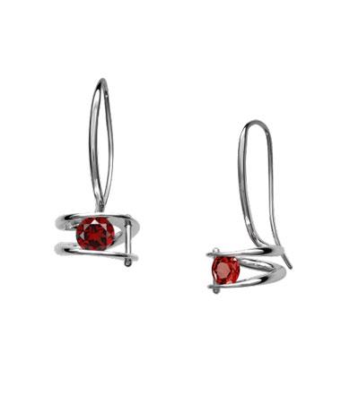 E.L. Designs Ed Levin Studio Earrings EA751, ILLUMINATE, Hawkins House Craftsmarket, Bennington, VT