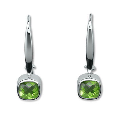Ed Levin Earrings EA752, SQUARE DANCE, Hawkins House Craftsmarket, Bennington, VT
