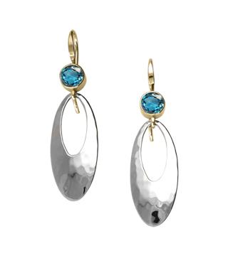 Ed Levin Earrings EA782, CLEO, Hawkins House Craftsmarket, Bennington, VT