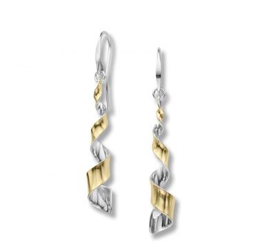E.L. Designs Ed Levin Studio Earrings EA897, TWIST, Hawkins House Craftsmarket, Bennington, VT