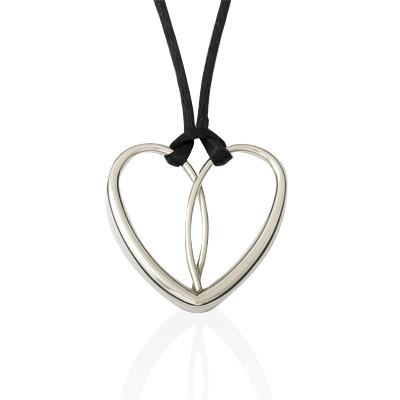 E.L. Designs Ed Levin Studio Neckwear PE355, HEART, Hawkins House Craftsmarket, Bennington, VT